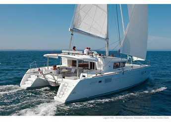 Chartern Sie katamaran in Lefkas Nidri - Lagoon 450  Flybridge 1