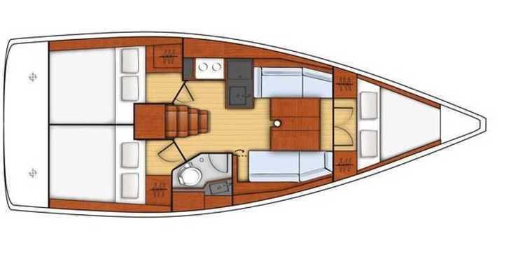 Rent a sailboat in Split (ACI Marina) - Beneteau Oceanis 35.1