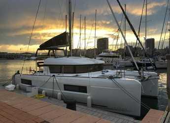 Chartern Sie katamaran in Muelle de la lonja - Lagoon 40