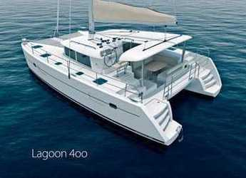 Rent a catamaran in Scrub Island - Lagoon 40