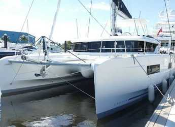 Rent a catamaran in Maya Cove, Hodges Creek Marina - Lagoon 46