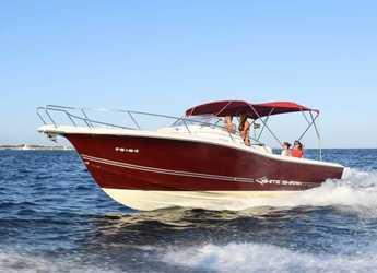Rent a motorboat in Marina Ibiza - White Shark 298
