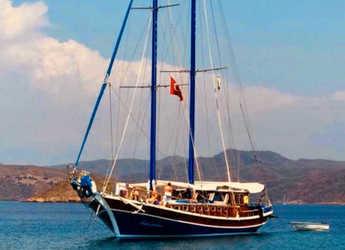 Rent a schooner in Bodrum Marina - Gulet Kavanca