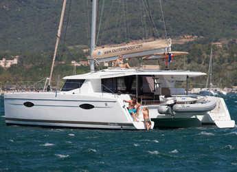 Rent a catamaran in Netsel Marina - Helia 44 Quatuor