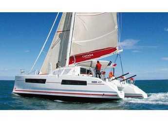 Chartern Sie katamaran in Netsel Marina - Catana 47 Carbon