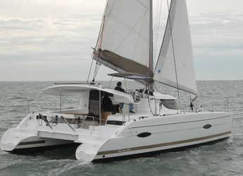 Rent a catamaran in Netsel Marina - Lipari 41 Maestro evo