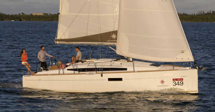 Rent a sailboat in ACI Marina Vodice - Sun Odyssey 349