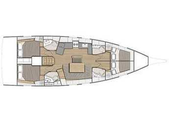 Rent a sailboat in D-Marin Borik - Oceanis 46.1 with A/C