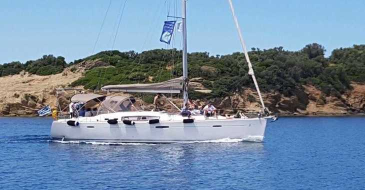 Rent a sailboat in Skiathos  - Oceanis 46 (2011)