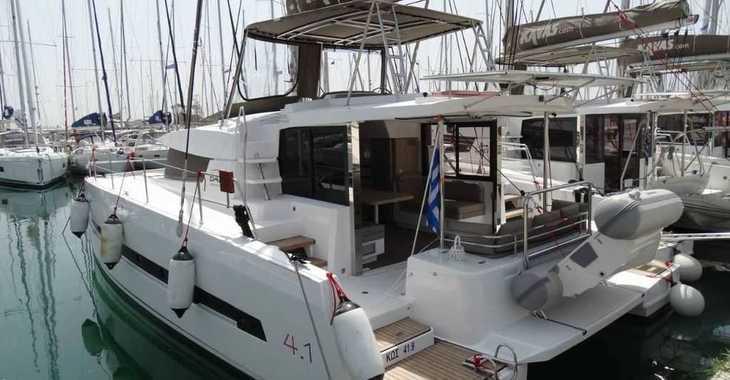 Rent a catamaran in Alimos Marina Kalamaki - Bali 4.1