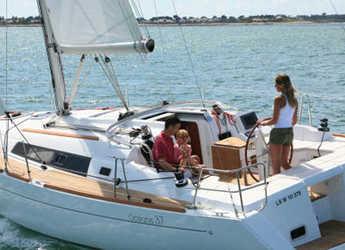 Rent a sailboat in Club Nautic Costa Brava - Oceanis 37