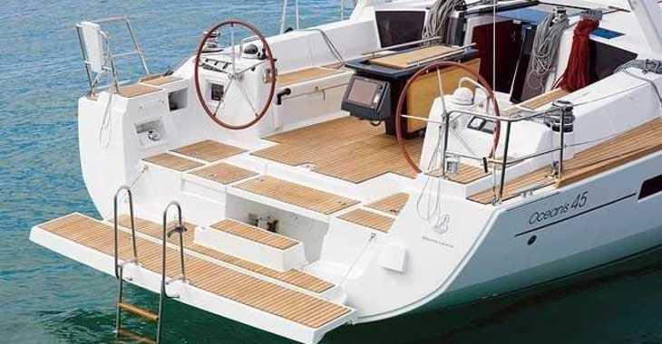 Alquilar velero Oceanis 45 en Marina Formentera, Formentera