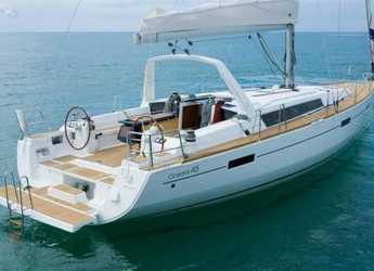 Rent a sailboat in Marina Formentera - Oceanis 45