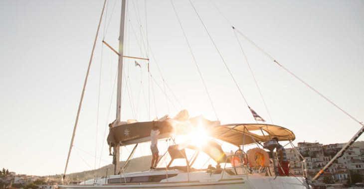 Rent a sailboat in Marina Skiathos  - Sun Odyssey 519 (AC, Gen)