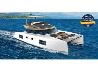 Rent a power catamaran  in Marina Gouvia - Nautitech 47 Power