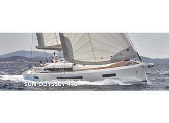 Rent a sailboat in Port of Lefkada - Sun Odyssey 490
