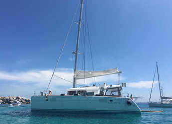 Rent a catamaran in Marina di Portisco - Lagoon 450