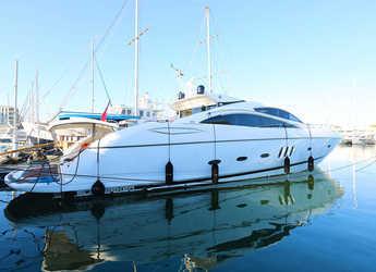 Rent a yacht in Naviera Balear - Sunseeker Predator 82