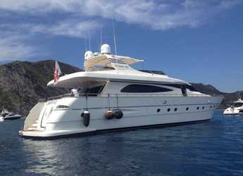 Rent a yacht in Naviera Balear - Canados 80