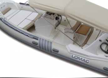 Chartern Sie schlauch-/beiboot in Marina Porto Cristo - Lomac 710