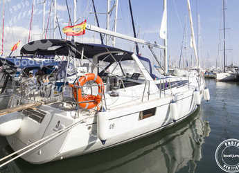 Rent a sailboat in Muelle de la lonja - Oceanis 48
