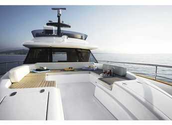 Rent a yacht in Marina Mandalina - Azimut Magellano 53