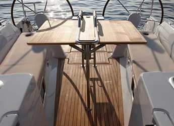 Rent a sailboat in Ece Marina - Hanse 455
