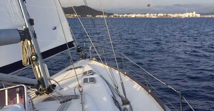Alquilar velero en Port Olimpic de Barcelona - Bavaria 46 Cruiser