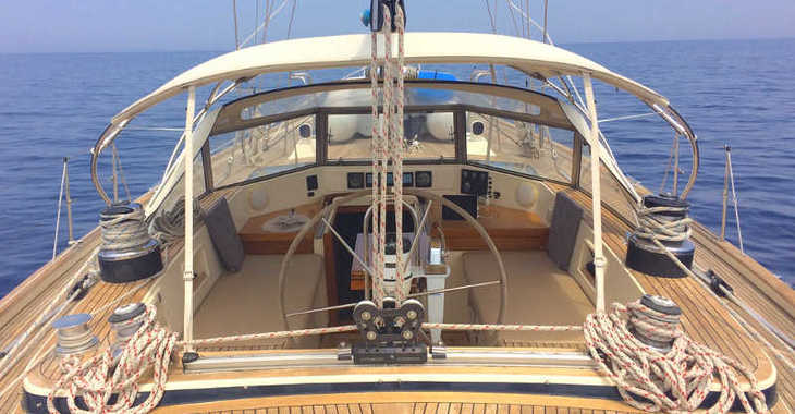 Rent a sailboat in Mykonos - Hallberg-Rassy 49