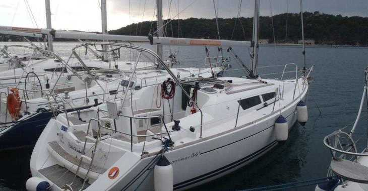 Rent a sailboat in Marina Kremik - Sun Odyssey 36 i