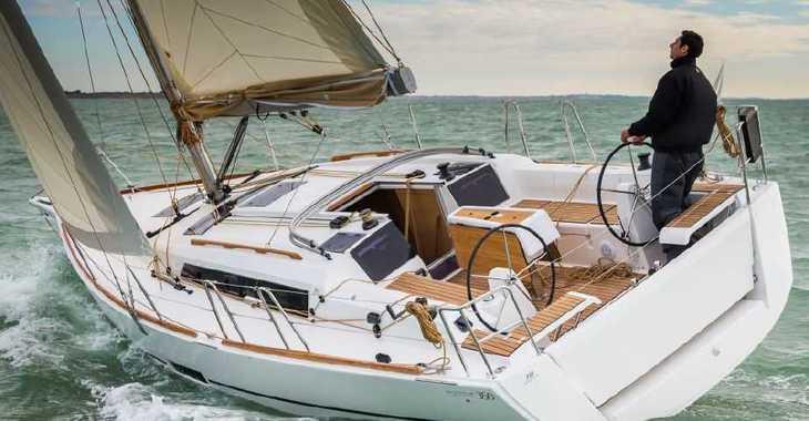 Rent a sailboat Dufour 350 in Contra Muelle Mollet, Palma de mallorca