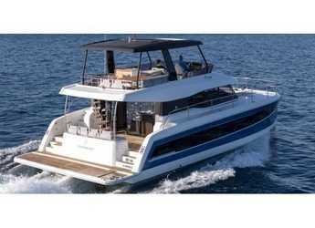 Rent a power catamaran in Marina Mandalina - MY 44 Fountaine Pajot