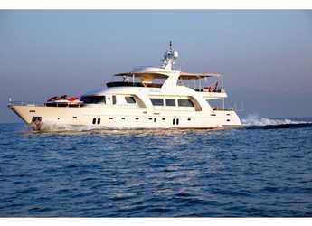 Rent a yacht in Bodrum Marina - Motoryacht Azmim