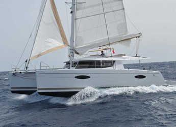 Chartern Sie katamaran in Porto Capo d'Orlando Marina - Helia 44