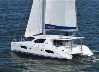 Rent a catamaran in Marina di Portorosa - Leopard 44