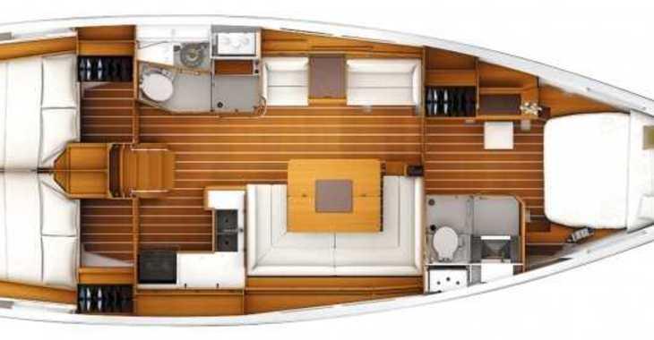 Alquilar velero Sun Odyssey 439 en Marina di Portisco, Portisco