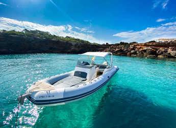 Chartern Sie motorboot in Club Naútico de Sant Antoni de Pormany - Capelli Tempest 800