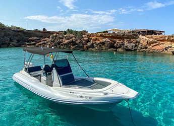 Rent a dinghy in Club Naútico de Sant Antoni de Pormany - Zar 79 Sport Luxury