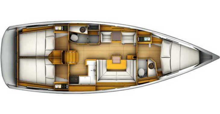 Rent a sailboat in Skiathos  - Sun Odyssey 409