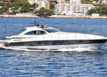 Rent a motorboat in Marina Port de Mallorca - Pershing 54