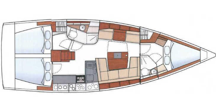 Rent a sailboat in Real Club Nautico de Calpe - Hanse 415