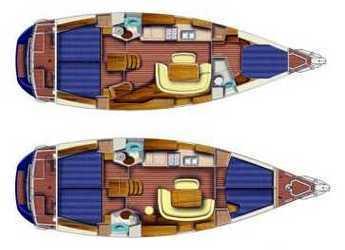 Rent a sailboat Sun Odyssey 45 in Marina di Portoferraio, Elbe
