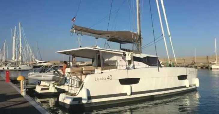 Rent a catamaran in Marina Gouvia - Lucia 40