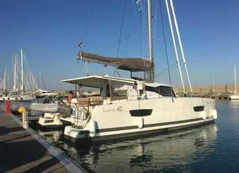 Rent a catamaran in Marina Gouvia - Lucia 40