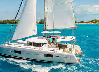 Rent a catamaran in Ece Marina - Lagoon 420