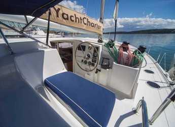 Rent a catamaran in Marina di Olbia - Lipari 41 Evolution