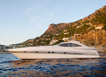 Rent a yacht in Naviera Balear - Pershing 54