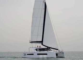 Louer catamaran à Solenzara - Aventura 34