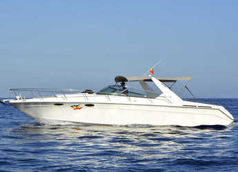 Rent a motorboat in Marina Botafoch - Sea Ray 380