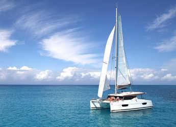 Rent a catamaran in Salerno - Fountaine Pajot Lucia 40